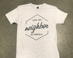 Love thy neighbor as yourself