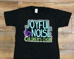 Joyful Noise Children's Choir Shirt