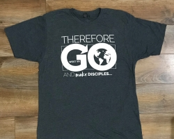 Therefore go and make disciples