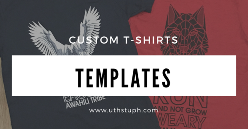 Custom templates for your shirt