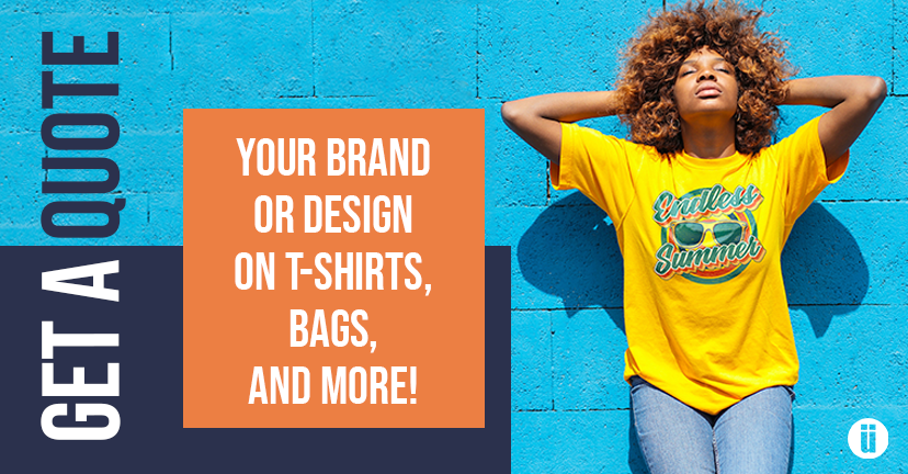 Get a quote for custom tees